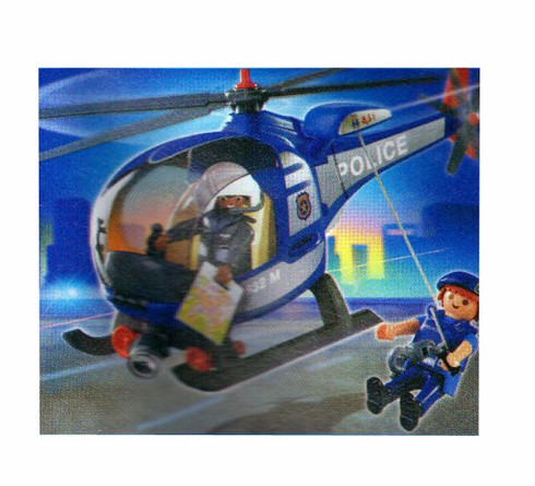Playmobil 4267 Police Helicopter