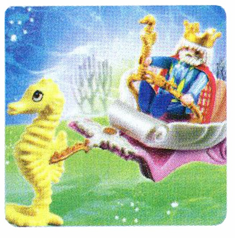 Playmobil 4815 Ocean King With Seahorse
