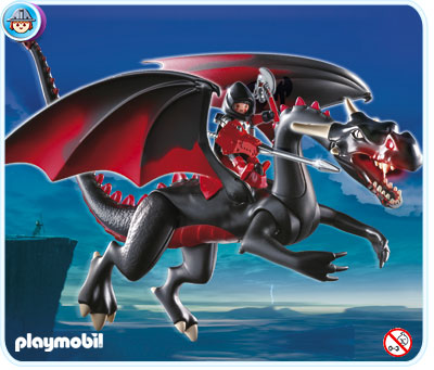 Playmobil 4838 Giant Dragon with LED Lance