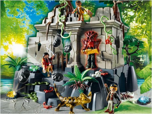 Playmobil 4842 Treasure Temple with Guards