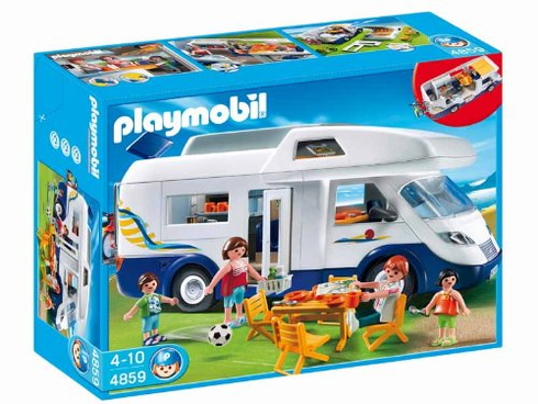 Playmobil 4859 Family Camper (2010)