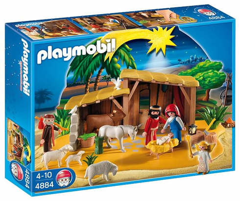 Playmobil 4884 Nativity Manger with Stable