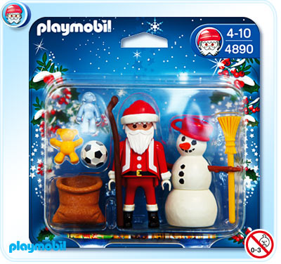 Playmobil 4890 Santa Claus and Snowman