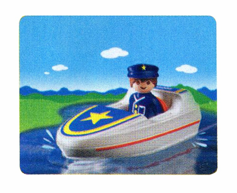 Playmobil 6720 Boat and Captain