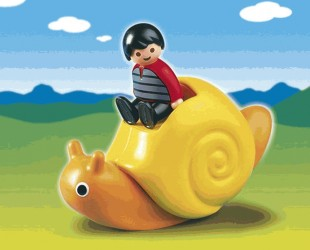 Playmobil 6755 123 Rocking Snail