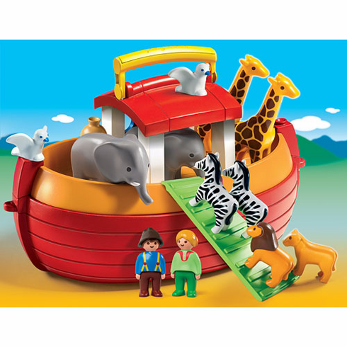 Playmobil 6765 My Take Along Noah's Ark 1.2.3