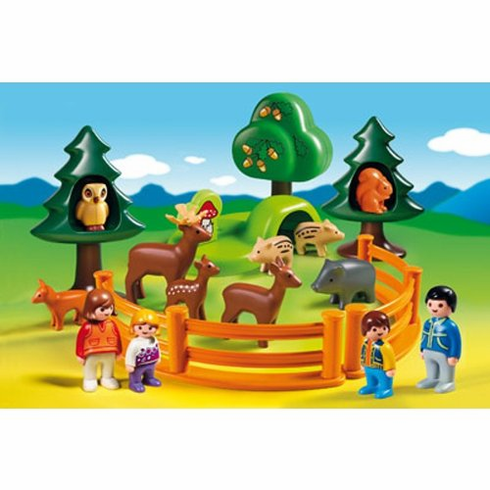 Playmobil 6772 Forest Animal Park 1.2.3