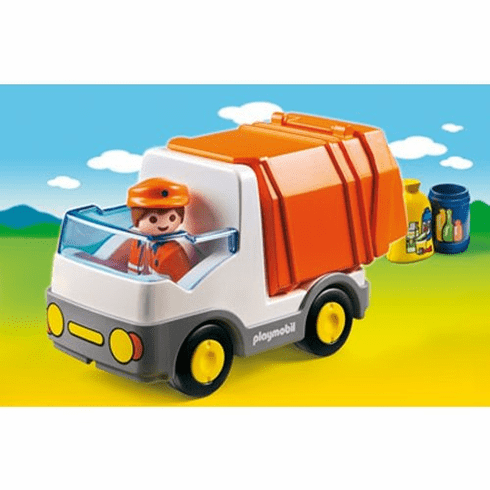 Playmobil 6774 Recycling Truck 1.2.3