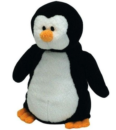 "Pluffies 10"" Waddles the Penguin"
