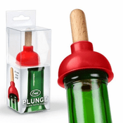 Plunge Silicone Bottle Stopper