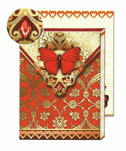 POCKET JOURNAL: RED ButterFLY
