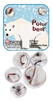 Polar Bear Marbles
