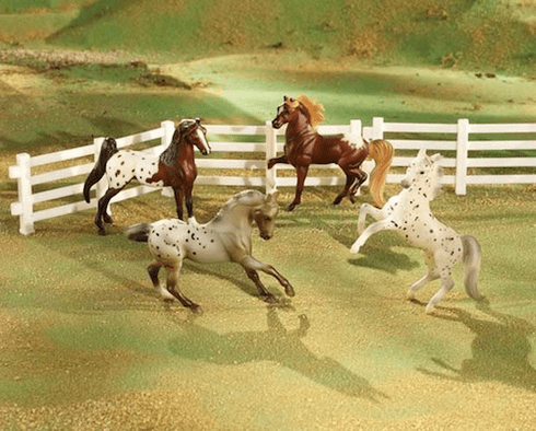 Polka Dot Parade Appaloosa Horses Set
