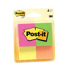 Post-It Page Markers Neon