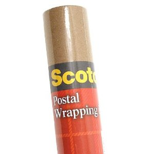 "Postal Wrapping Paper 30""x15'"