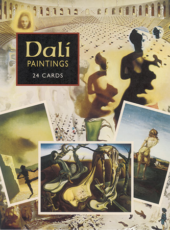 Postcard - Dali Paintings