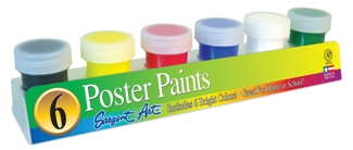 Poster Paint Primary Colors