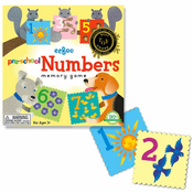 Pre-School Numbers Matching Game
