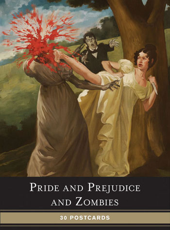 Pride and Prejudice and Zombies: 30 Postcards
