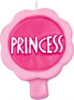 Princess Shaped Candle