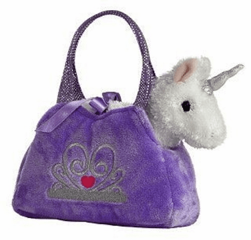 Princess Unicorn Fancy Pet Carrier Purse
