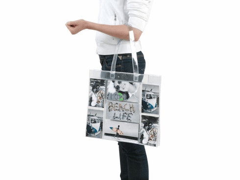 PVC Photo Tote Bag