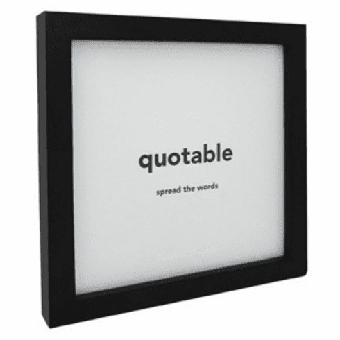 Quotable Card Frame