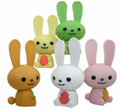 Rabbit Erasers