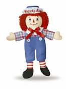 "Raggedy Andy Classic Small 8"" Doll"