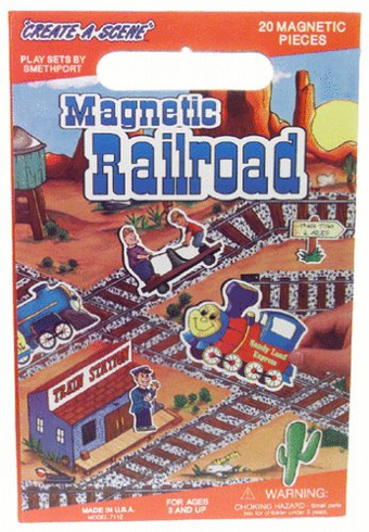 Railroad Magnetic Playboard
