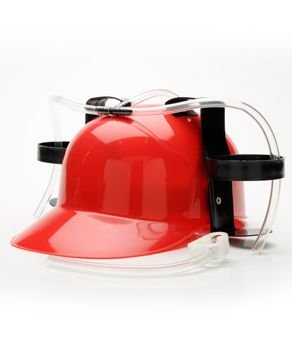 Red Drink Hat