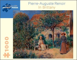 Renoir: In Brittany Jigsaw Puzzle