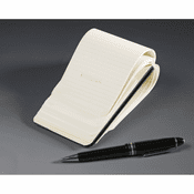 Reporter Small Black Notebook