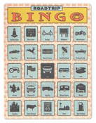 Roadtrip Bingo