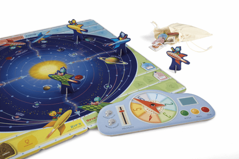 Robot Explorers Solar System Game