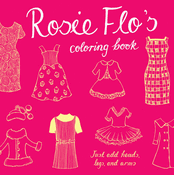 Rosie Flo's Coloring Book (Pink)