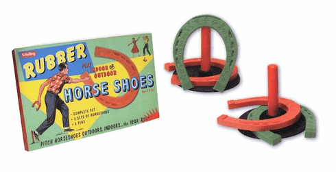Rubber Horse Shoe Set