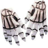 Rubber Skeleton Hands
