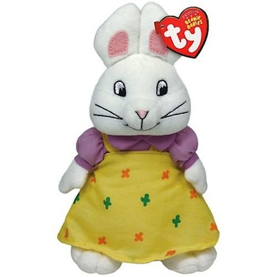 Ruby the Rabbit Beanie Baby 8""