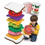 Sandwich Stacking Game