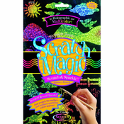 Scratch Art Magic Multicolor Scratch and Sparkle