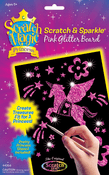 Scratch Magic Princess Pink Glitter Board