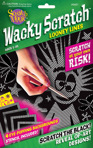 Scratch Magic Wacky Scratch Looney Lines