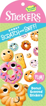 Scratch & Sniff Donut Stickers