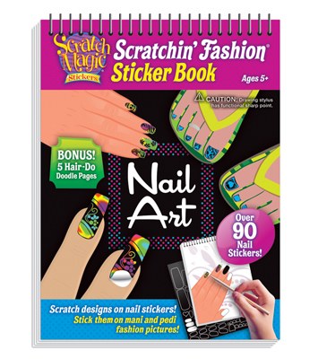 Scratchin' Fashion Nail Art
