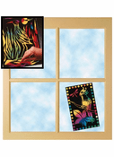 Scrite Lite Stained Glass (10 Sheets)