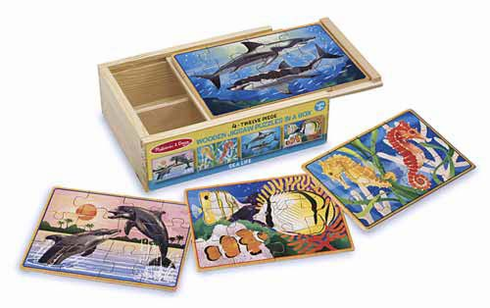 Sea Life Jigsaw Puzzles in Box