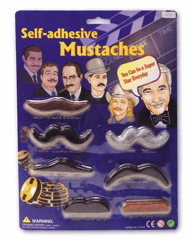 Self- Adhesive Mustaches