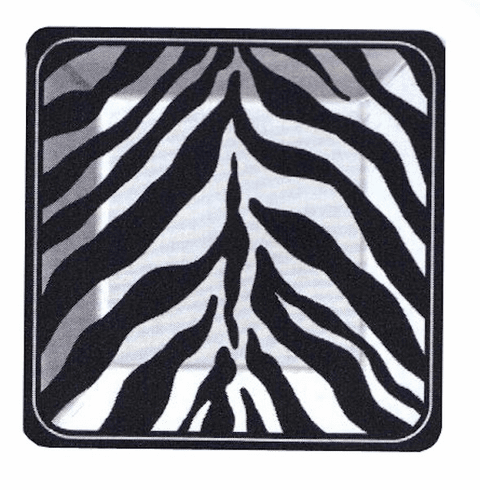 Serengeti Square Dinner Plates