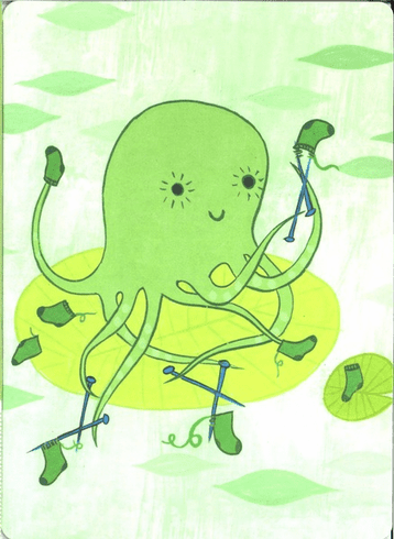 Sewing Octopus